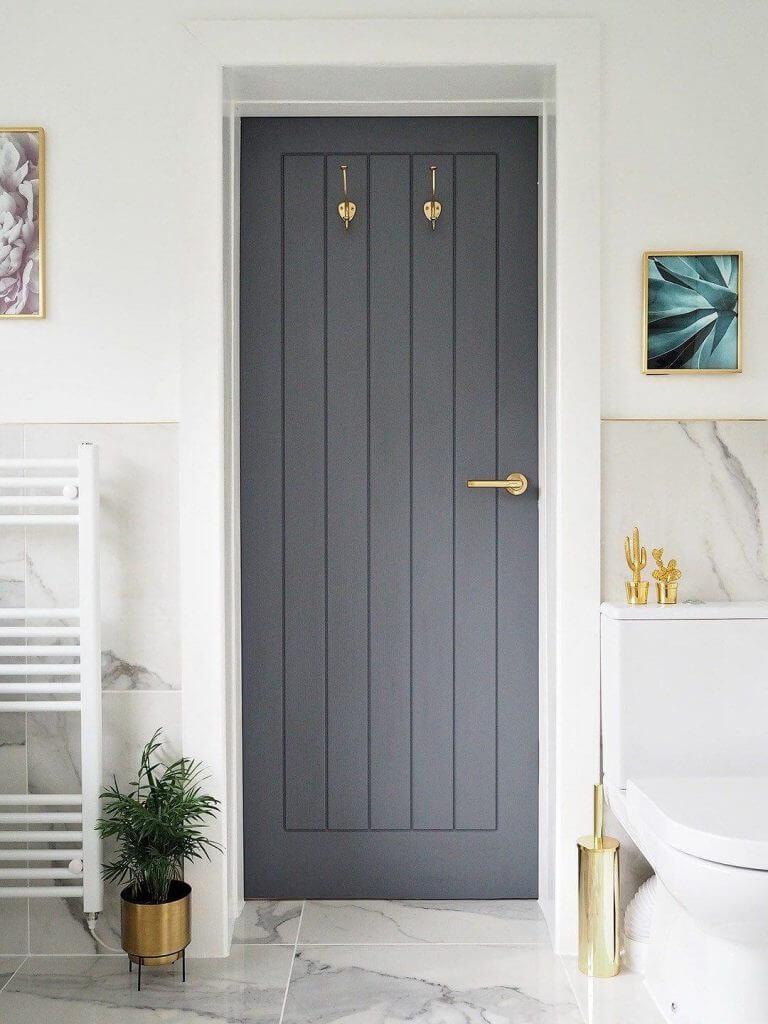 Класическа интериорна врата за дома