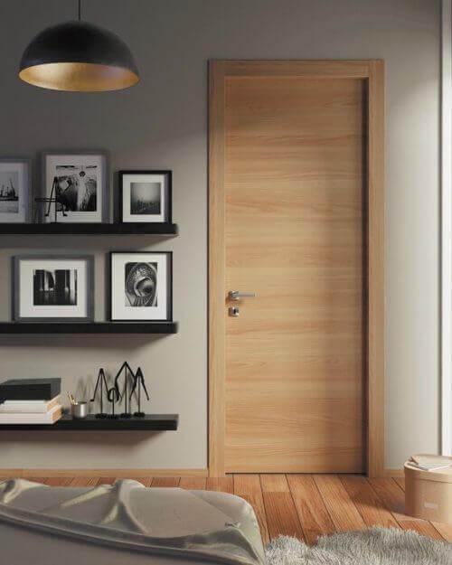 Защо да изберете дъбов цвят за интериорни врати за дома си?