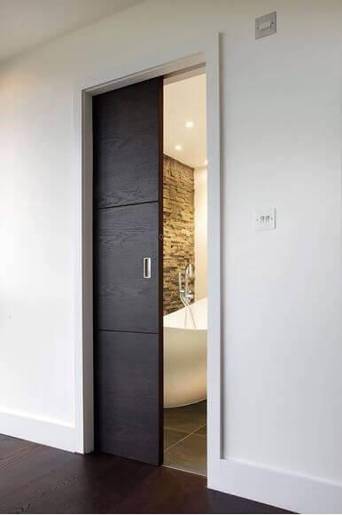 Плъзгаща Интериорна Врата за баня
